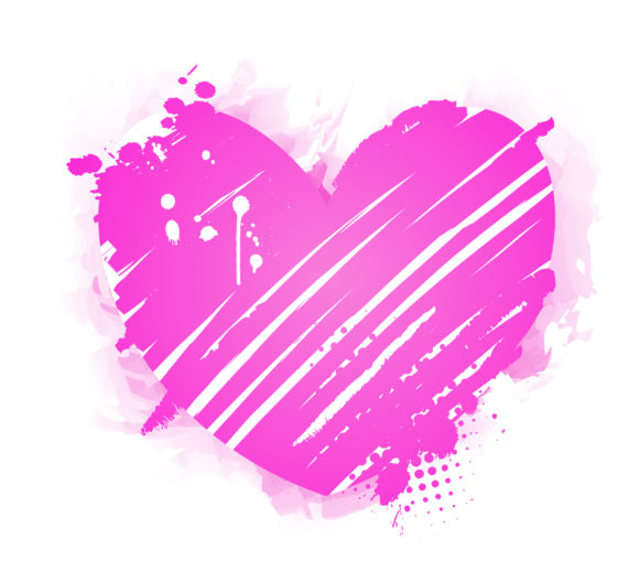 Grunge Eps Vector Grunge Heart Vector Illustration 10 27 2010 17
