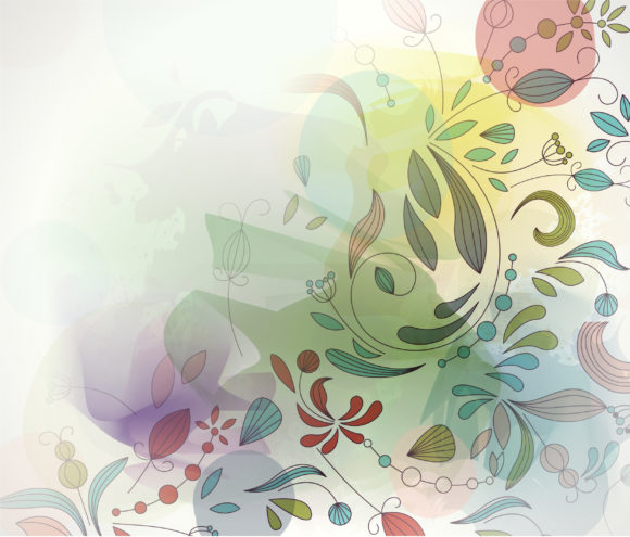 Colorful, Curl, Abstract, Illustration Vector Art Colorful Abstract Background Vector Illustration 10 27 2010 6