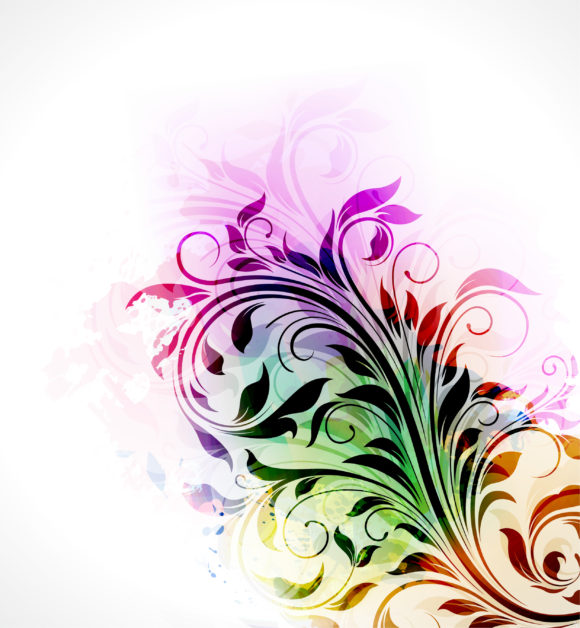 Lovely Background Vector Illustration: Abstract Floral Background Vector Illustration Illustration 10 27 2010 64