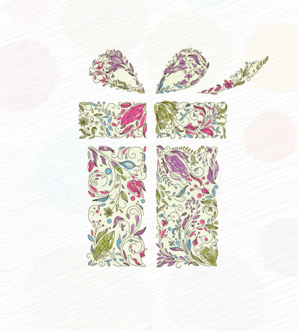 Doodles, Greeting, Christmas, Gift Vector Design Vector Doodles Christmas Greeting Card 10 29 2010 53