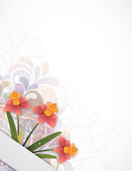 Illustration, Background, Leaf Vector Art Floral Background Vector Illustration 10 2 2012 14