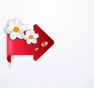 Vector Arrow With Floral Vector Illustrations floral