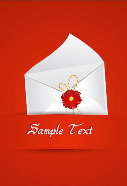 Abstract, Mail, Flower, Icon Vector Art Vector Abstract Background With Mail Icon 10 2 2012 40