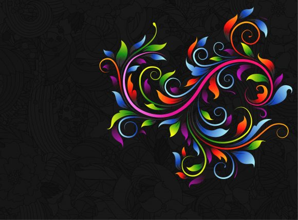 Abstract Eps Vector Abstract Floral Background Vector Illustration 11 01 2010 52