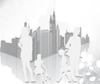 Vector Abstract Urban Background Vector Illustrations building