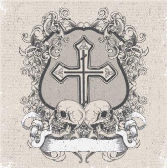 Vintage Emblem Vector Illustration Vector Illustrations old
