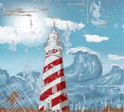Grunge Summer Background Vector Illustration Vector Illustrations wave