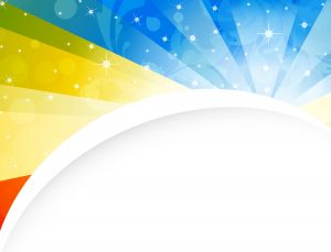 Vector Abstract Background With Colorful Rays Vector Illustrations star