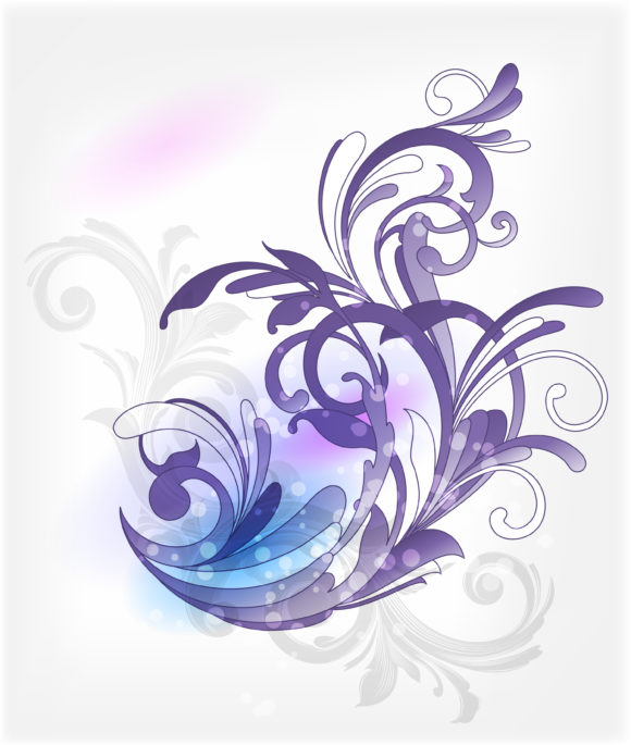 Background, Abstract Vector Vector Abstract Floral Background 1