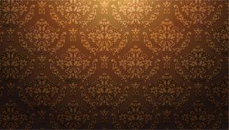 Damask wallpaper vector illustration Vector Illustrations old