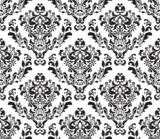 Vector Damask Seamless Background Vector Illustrations old