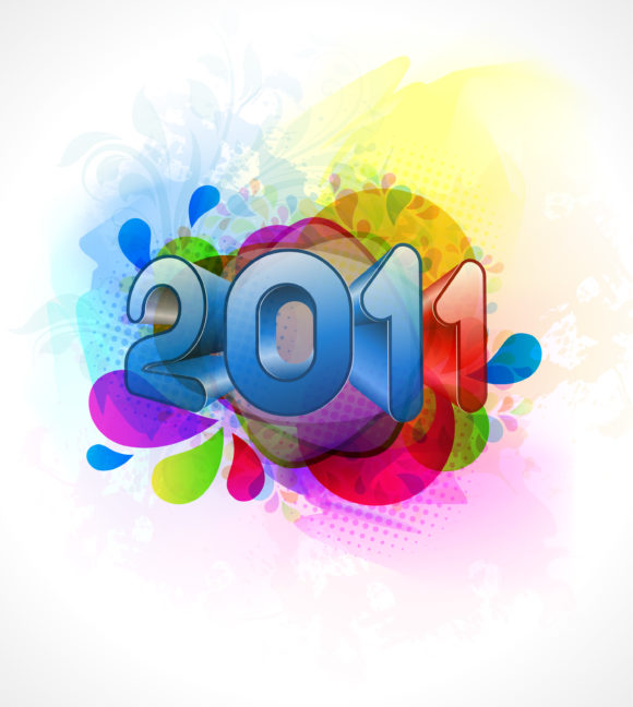 Year Vector Graphic Vector New Year Background 11 26 2010 16