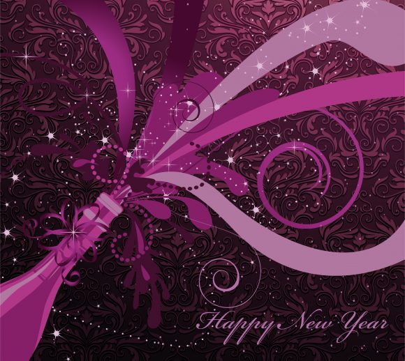 Vector Vector Art Vector New Year Background 11 26 2010 2