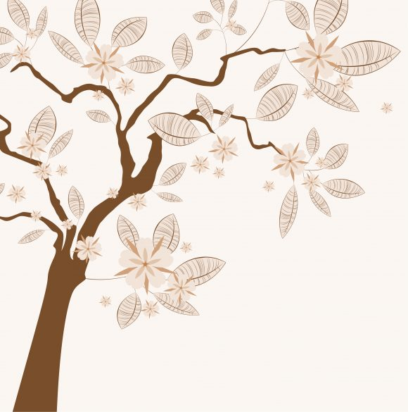 Awesome With Vector Background: Vector Background Vintage Background With Tree 11 26 2010 58