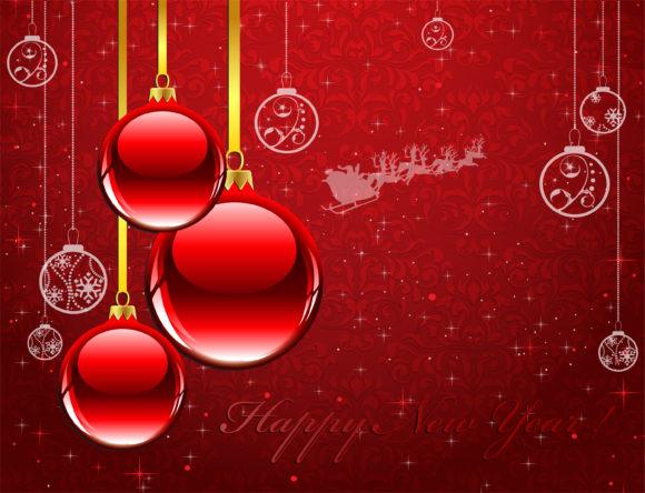 Greeting Vector Artwork Vector New Year Greeting Card 1