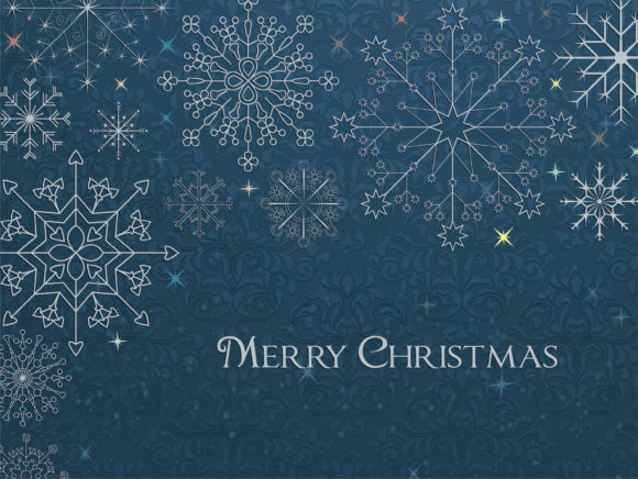 Vector Vector Image Vector Christmas Greeting Card 1