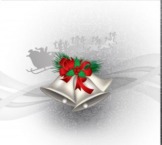 Vector Christmas Greeting Card Vector Illustrations floral