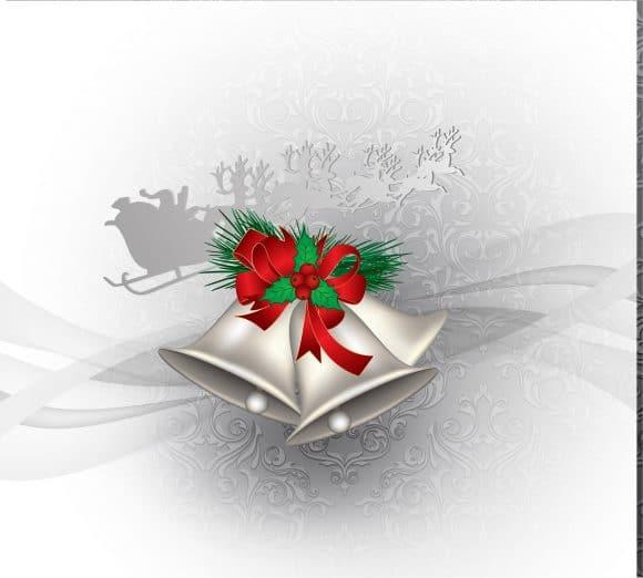 Claus Vector Vector Christmas Greeting Card 1