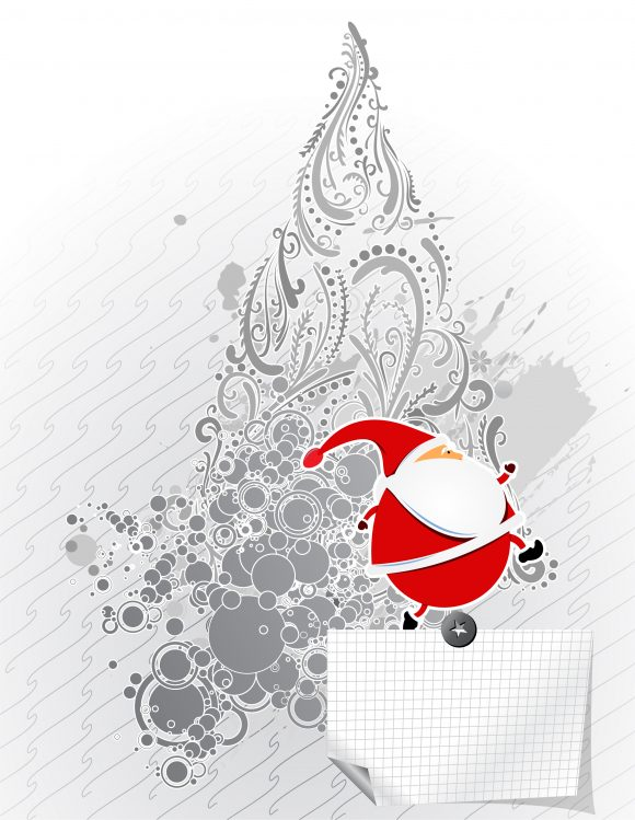Vector, Claus Eps Vector Vector Christmas Greeting Card 11 30 2010 7