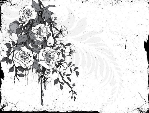 Vintage, Vintage-2, Floral Vector Graphic Vintage Floral Background Vector Illustration 11 30 2010 74