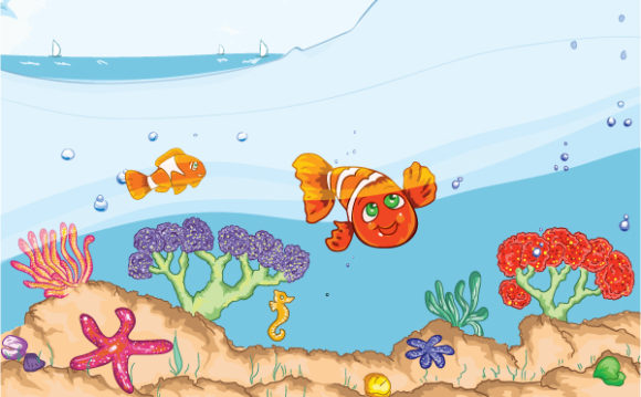 Kids Vector Design Kids Swimming Vector Illustration 11 7 2011 2