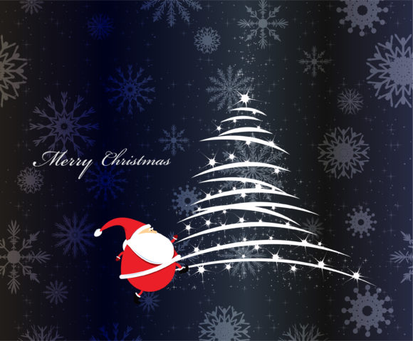 Download Vector Eps Vector: Eps Vector Christmas Greeting Card 5
