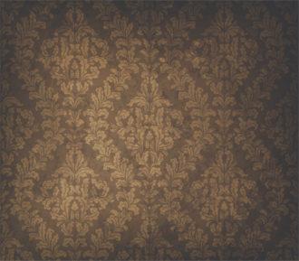 Grunge  Damask Background Vector Illustration Vector Illustrations old