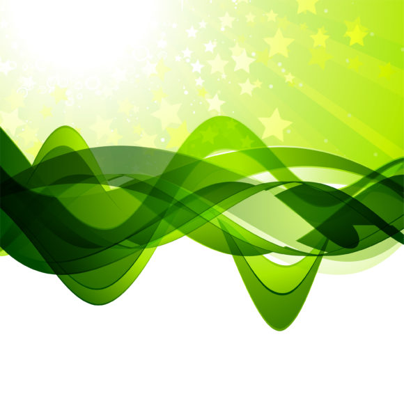 Vector, Abstract-2 Vector Graphic Vector Abstract Waves Background 1