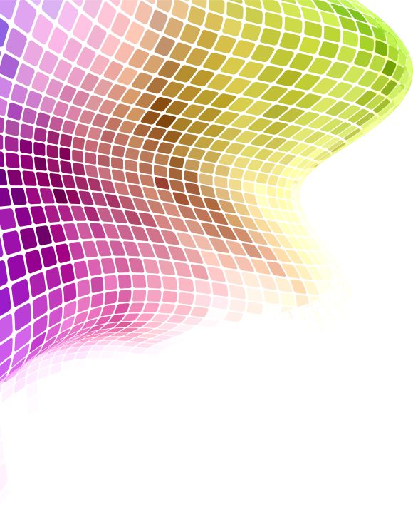 Background Vector Graphic: Vector Graphic Colorful Wave Background 12 13 2010 38