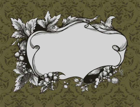 Floral, Frame Vector Design Vector Vintage Floral Frame 12 16 2010 1