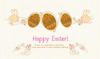 Easter Background Vector Illustration Vector Illustrations vector