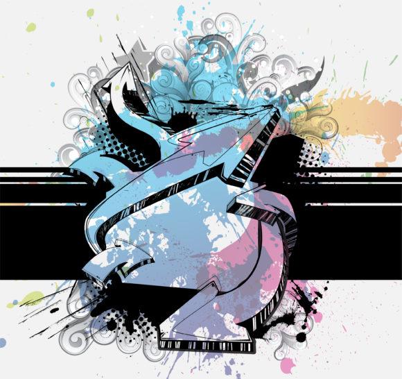 Background Vector Design Grunge Background Vector Illustration 5