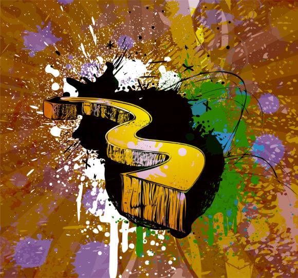 Background Eps Vector Grunge Background Vector Illustration 12 22 2010 2