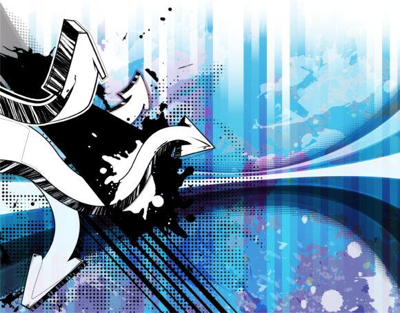 Vector Vector Graphic Grunge Background Vector Illustration 5
