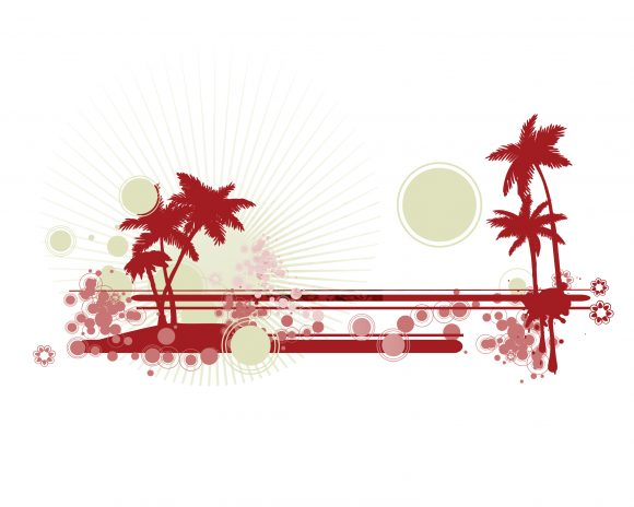 Lovely Illustration Vector Image: Vector Image Grunge Summer Illustration 12 2 2010 29