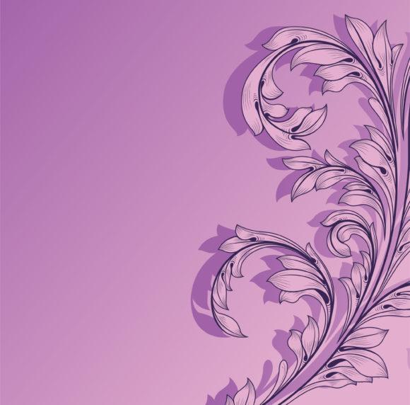 Background Eps Vector Vintage Floral Background Vector Illustration 5