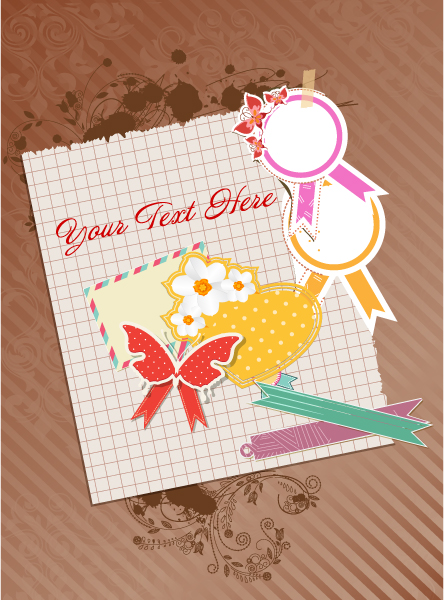 Scrapbook Elements Vector Illustration 12 3 2012 103