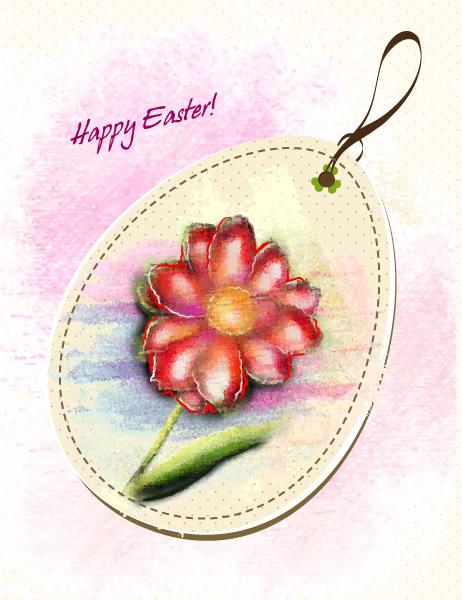 Easter Background Vector Illustration 12 3 2012 15