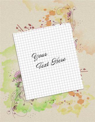 Blank Paper Vector Illustration Vector Illustrations old