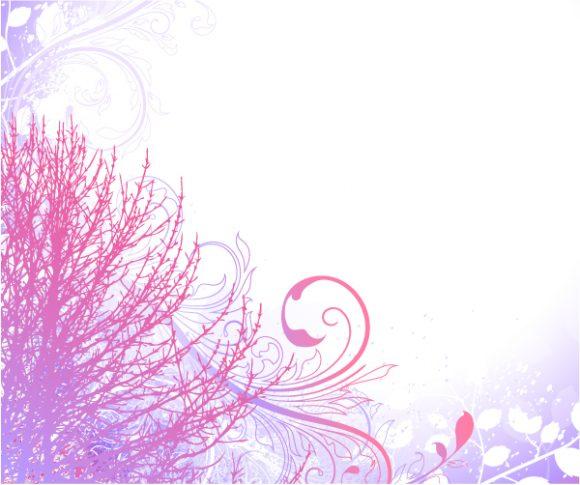 Illustration, On, Vector, Creative Vector Image Tree On Grunge Background Vector Illustration 5