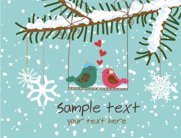 Greeting, Vector Vector Image Vector Christmas Greeting Card 12 9 2011 103