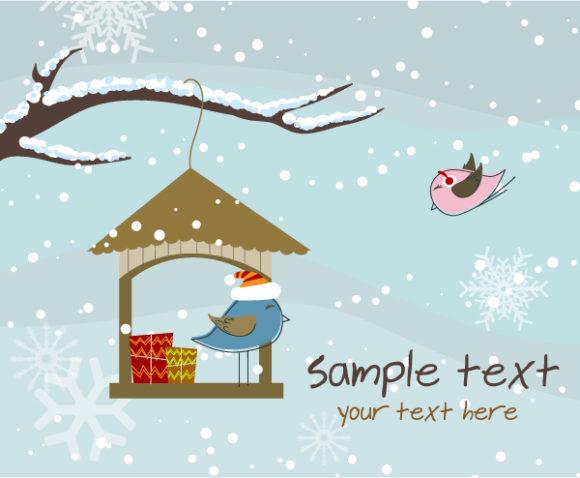 Vector, Holiday Vector Image Vector Christmas Greeting Card 12 9 2011 104
