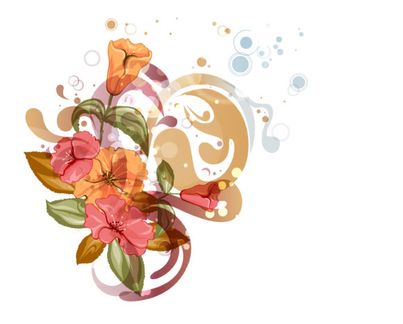 Vector Eps Vector Vector Abstract Colorful Floral Background 13 01 2011 56