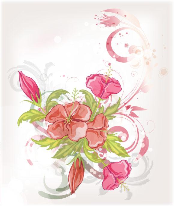 Vector, Colorful, Decorationornateabstractsymboldesignillustrationbackgroundartartworkcreativedecorelegantimagevectorfloralleafplantflowerfakespringcolorfulswirlcurlcircle Vector Art Vector Abstract Colorful Floral Background 13 01 2011 59