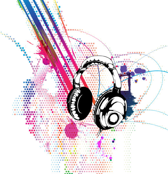 Colorful Vector Background Vector Colorful Music Background 5