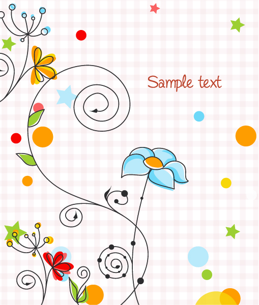 Vector Abstract Colorful Background Vector Illustrations star