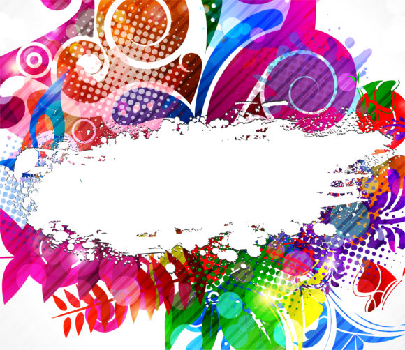 Editors-picks-backgrounds Vector Graphic: Vector Graphic Colorful Abstract Background 5