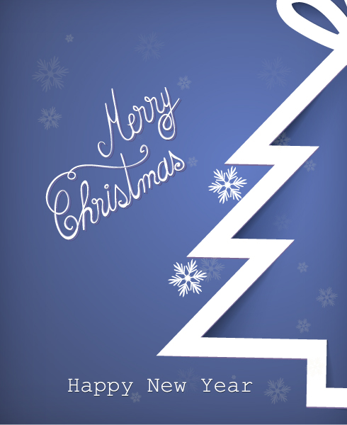Vector, With, Christmas, Creative Vector Image Christmas Vector Illustration With Christmas Tree 1