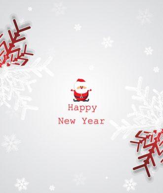 Christmas Vector Illustration With Snowflake Vector Illustrations vector
