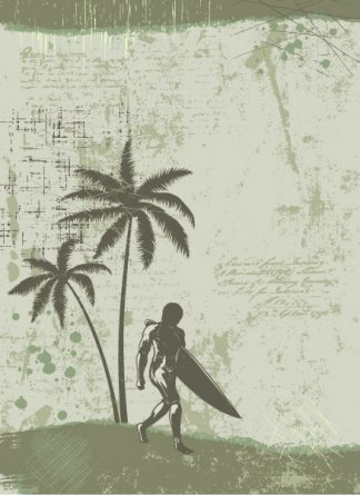 Vector Summer Background With Palm Trees Vector Illustrations palm